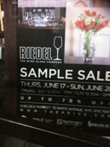 SHOP – Riedel Sample Sale