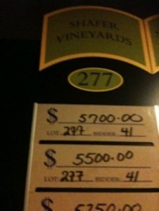DRINK EAT – Auction Napa Valley 2010