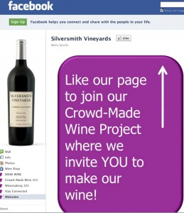 Turning Winemaking Over to Facebook Fans