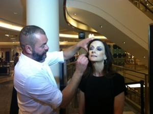 A Jolt of Color:  Makeup By Dick Page