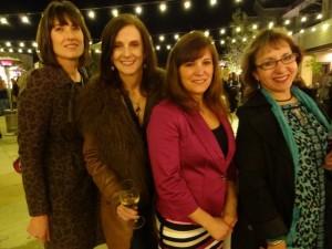 Deborah Parker Wong, me (WineFashionista), Deborah Brenner, Deborah Grossman