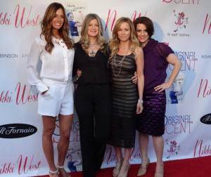 Event host Kelly Bensimon, Sarah Horowitz, Nicole Winnaman, Marley Majcher