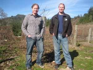 Winemaker Paul Stroh and Philip Nelson