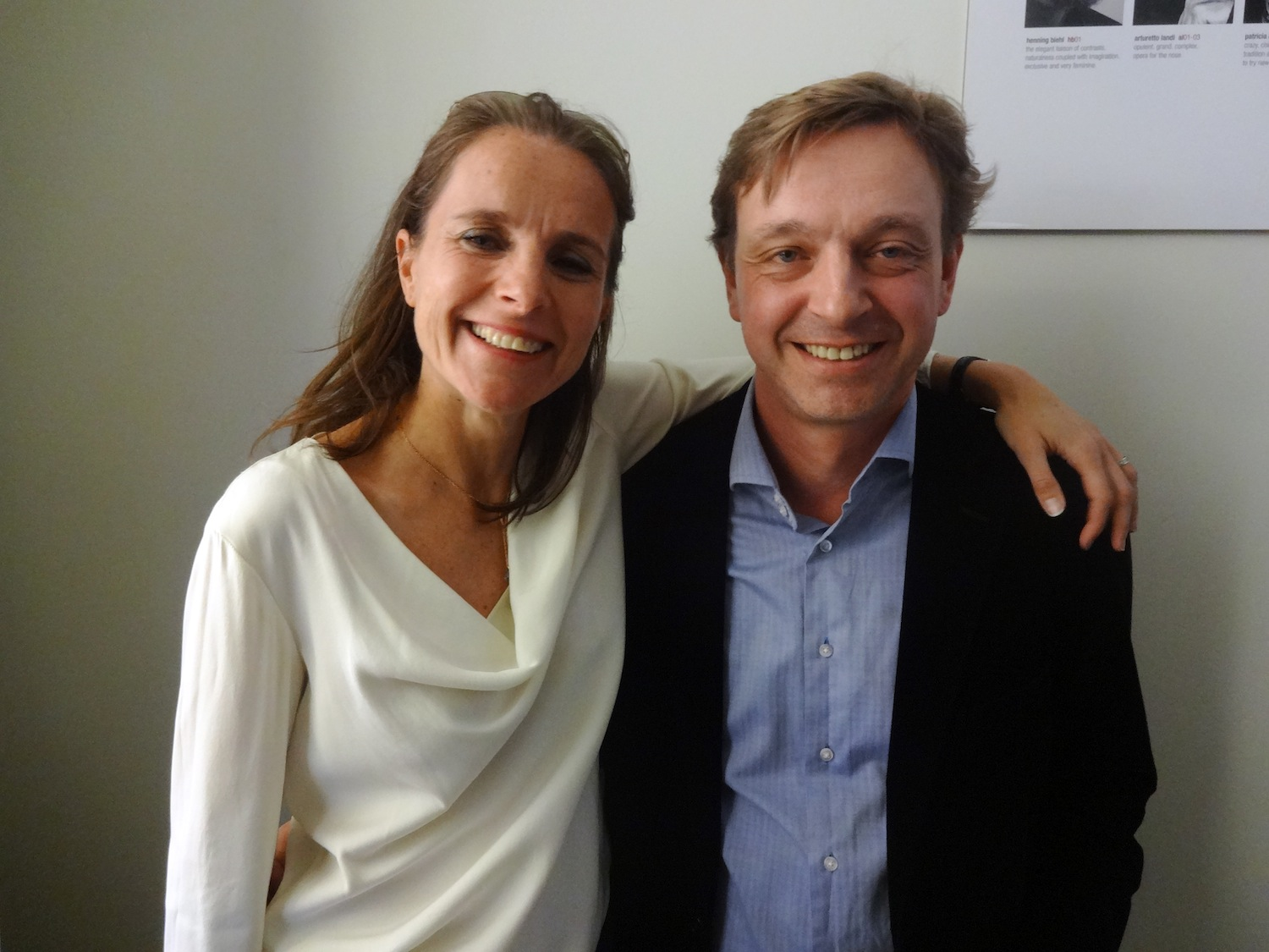 Patricia Choux and Thorsten Biehl