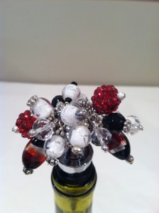 blingy wine stopper