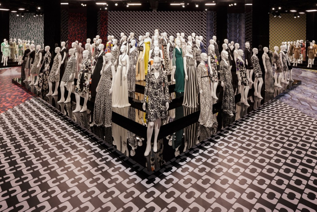 DVF exhibit