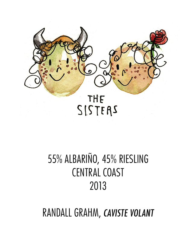 Randall Grahm Albarino Riesling Central Coast 2013 Front