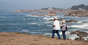 Fundraising with a Coastal View, and Pinot Too
