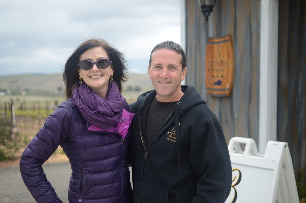With Steve Burman