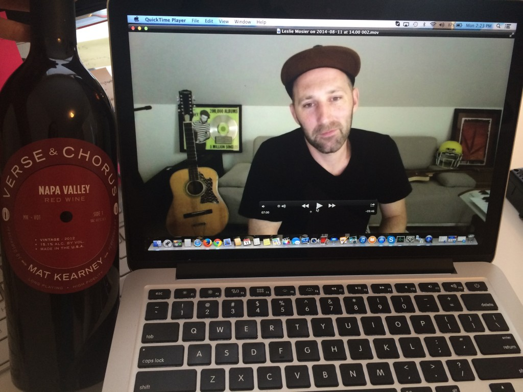 Wine Oh TV Mat Kearney