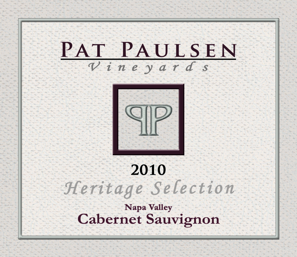 Pat Paulsen Vineyards Front label