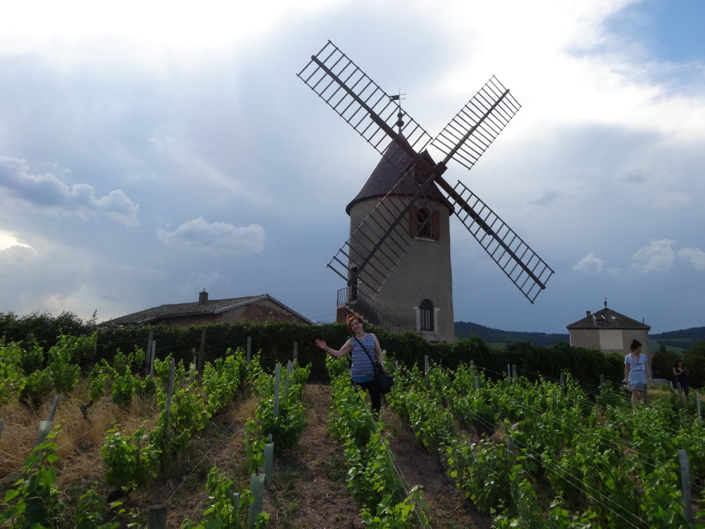 Moulin-a-Vent's landmark windmill