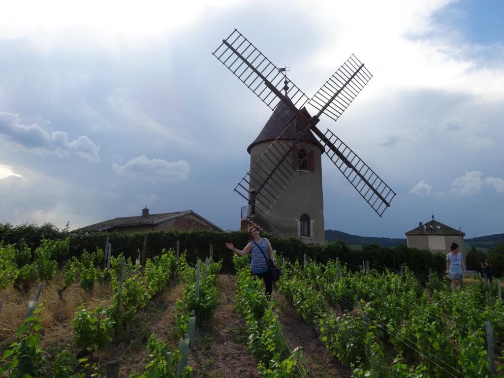Moulin-a-Vent's landmark windmill
